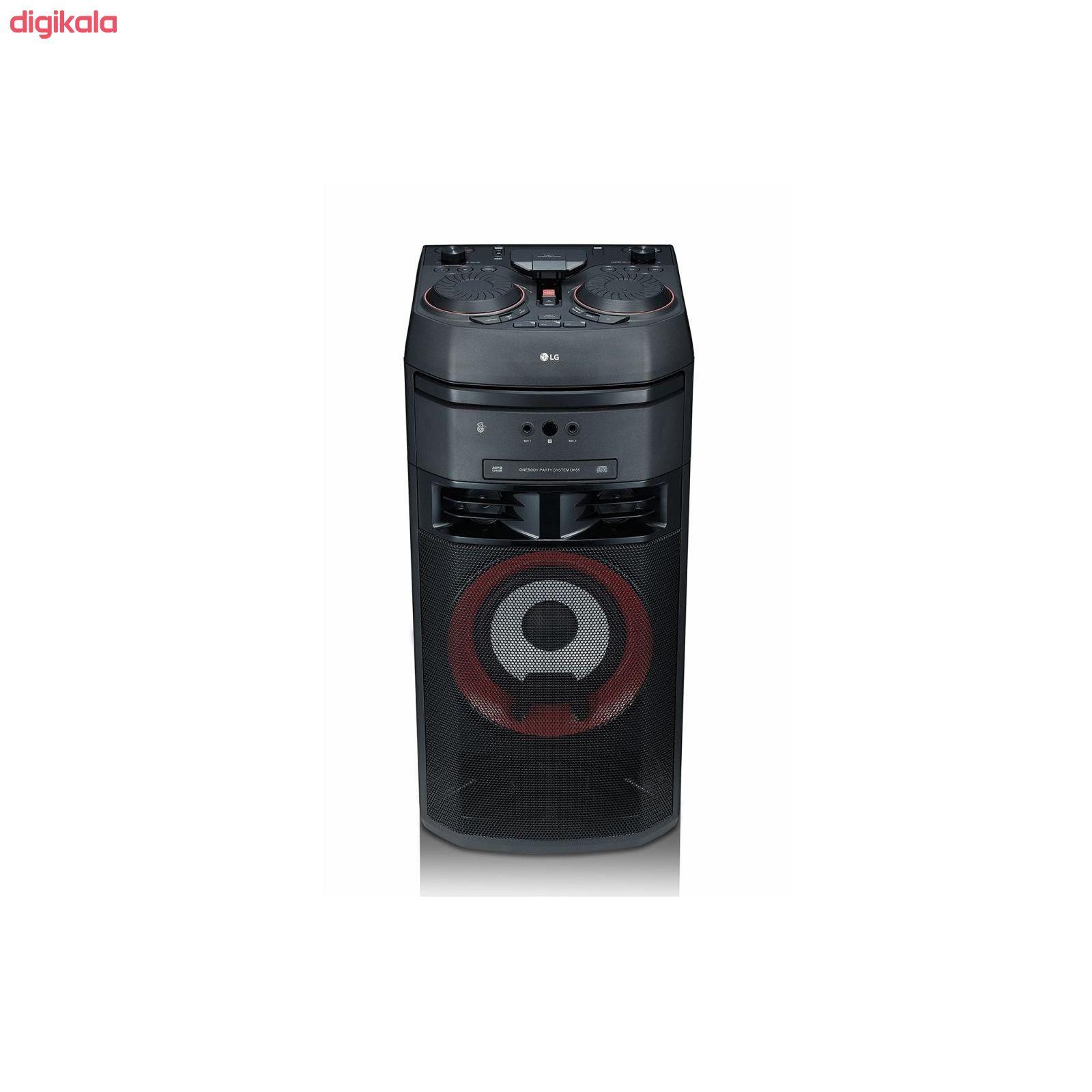 سیستم صوتی خانگی ال جی مدل OK55 main 1 2