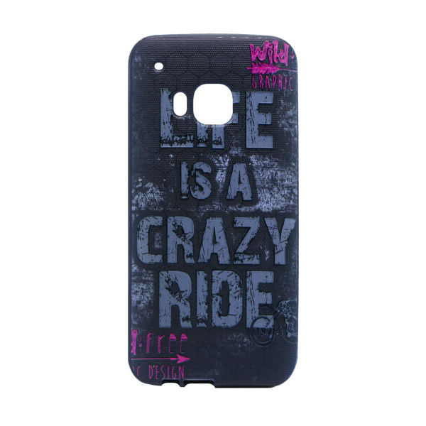 کاور طرح Crazy مدل Happy مناسب برای گوشی موبایل اچ تی سی One M9