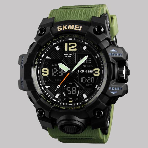 ساعت مچی عقربهای مردانه اسکمی مدل 1155 AG