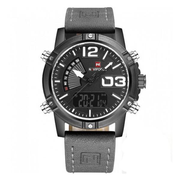 ساعت مچی عقربهای مردانه نیوی فورس مدل NF9095BWGY