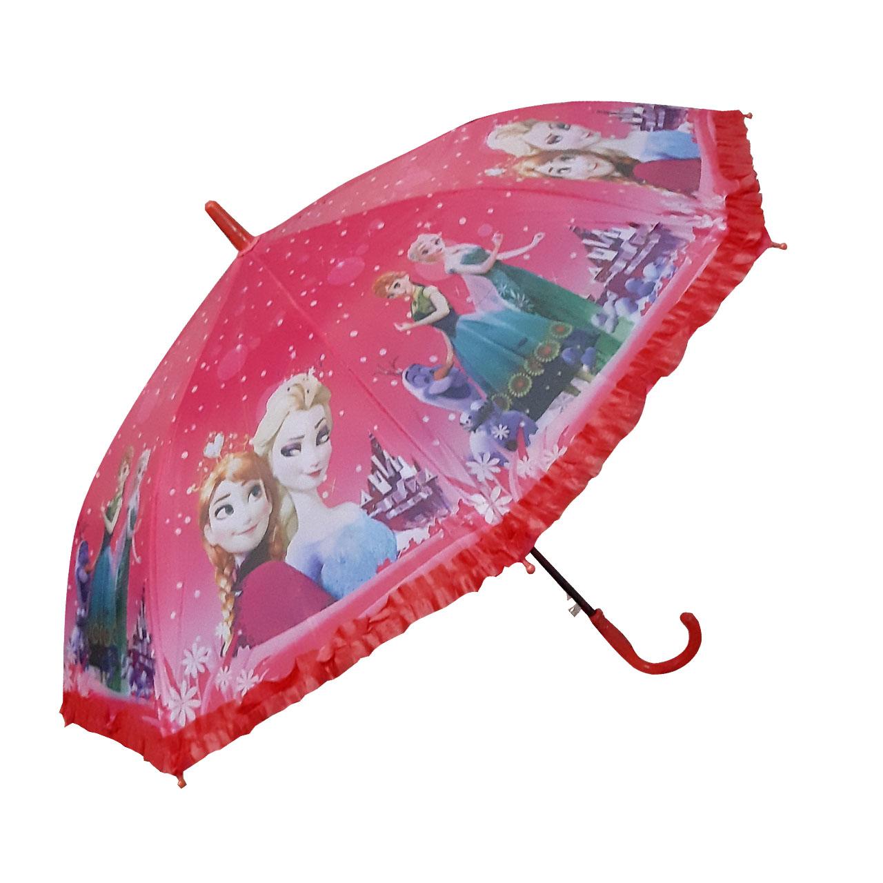 خرید                                     چتر بچگانه طرح فروزن کد 33