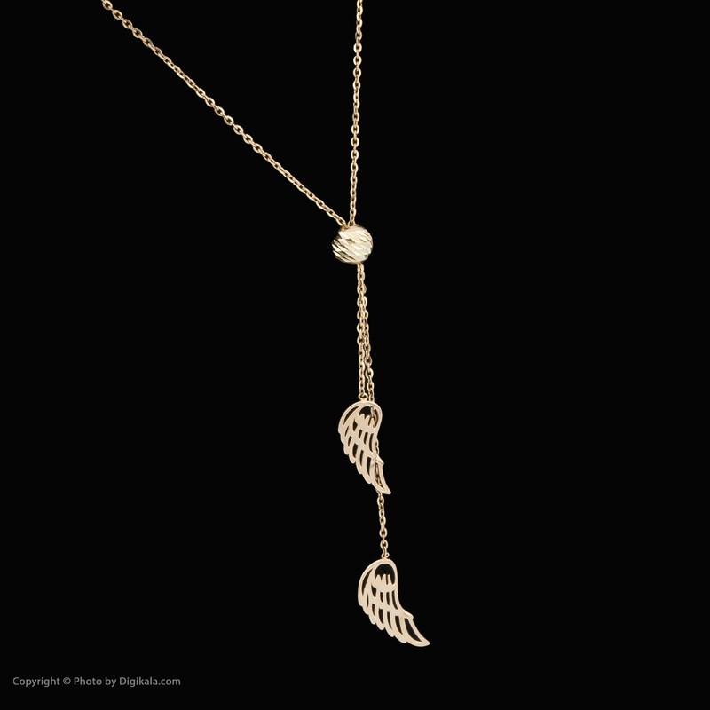 گردنبند طلا 18 عیار زنانه مدیسا مدل N1034