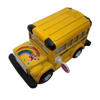 ماشین بازی مدل اتوبوس مدرسه