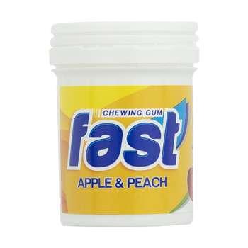 آدامس فست با طعم سیب و هلو - 24 گرم بسته 14 عددی
