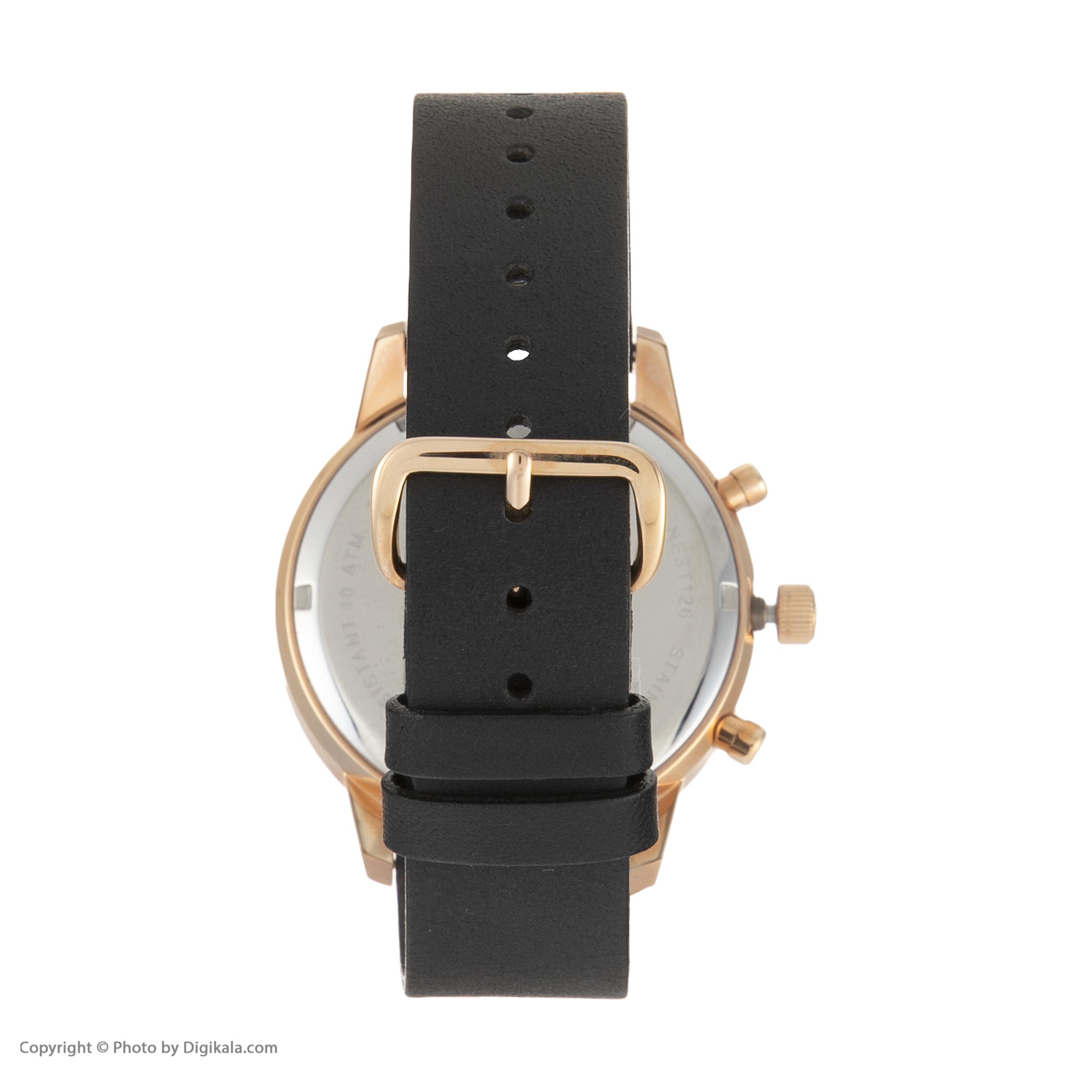 ساعت مچی عقربه ای تریوا مدل NEST126-CL110714P