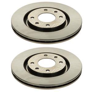 دیسک چرخ جلو کد 240139 مناسب برای پژو 405 بسته 2 عددی