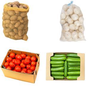 سیب زمینی ، پیاز ، خیار و گوجه - 20 کیلوگرم