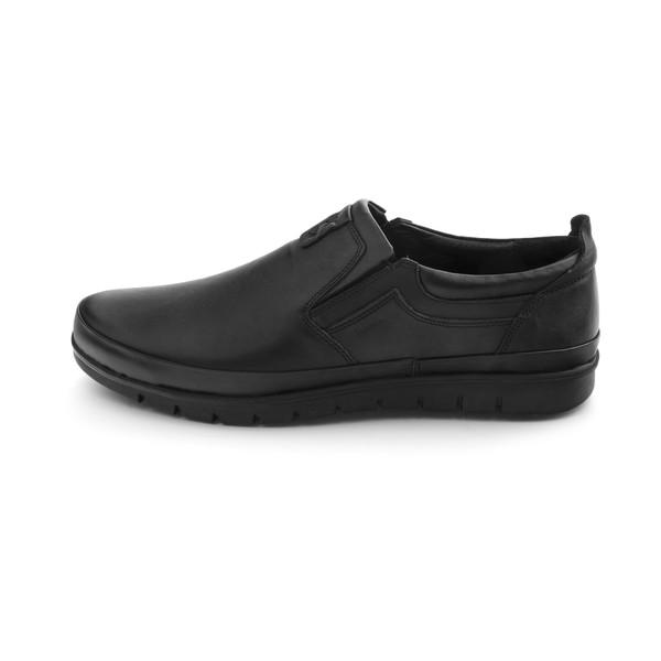 کفش روزمره مردانه مارال چرم مدل newforce-Black