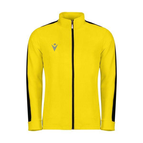 سویشرت ورزشی مردانه مکرون مدل نوا رنگ زرد
