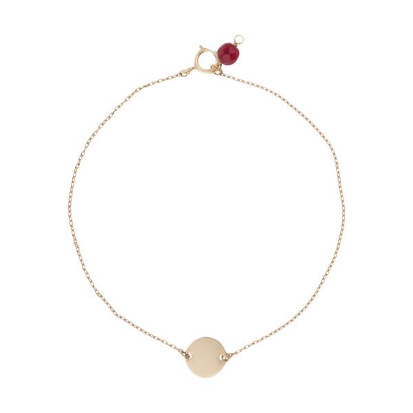 دستبند طلا 18 عیار زنانه نیوانی مدل B1007