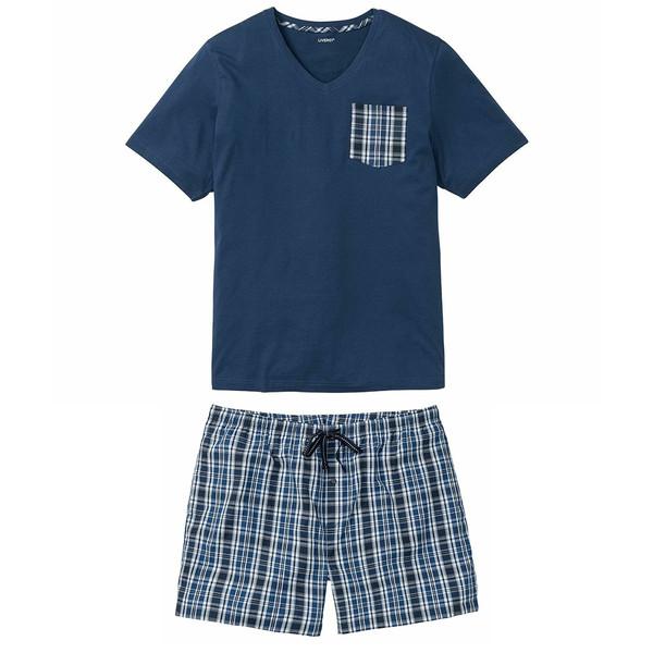 ست تی شرت و شلوارک مردانه لیورجی مدل BB-BS4X