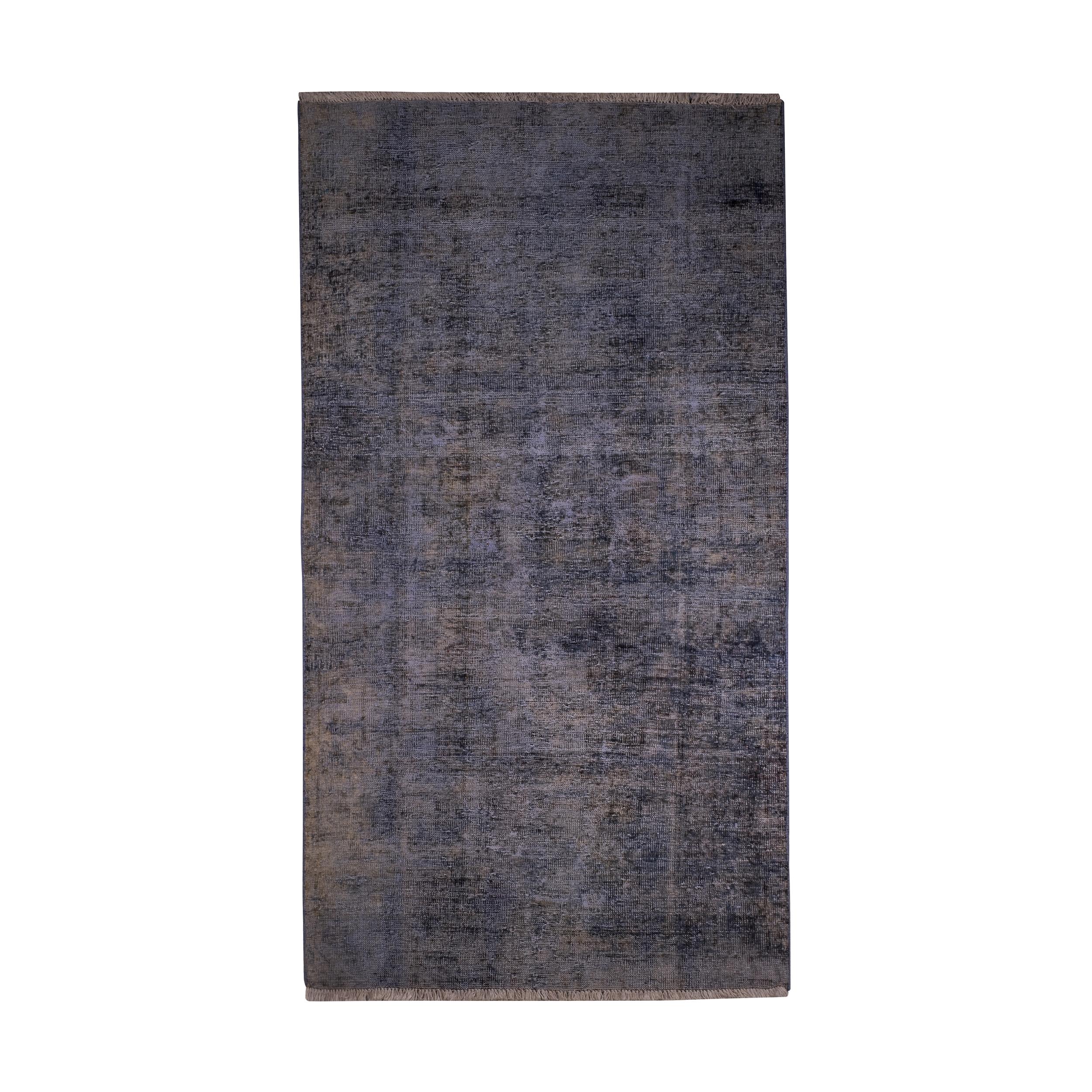 فرش دستبافت رنگ شده دو و نیم متری کد 1356
