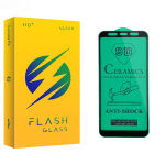 محافظ صفحه نمایش سرامیکی فلش مدل +HD مناسب برای گوشی موبایل سامسونگ Galaxy A7 2018/A750