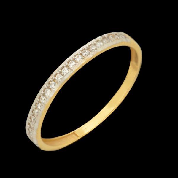 انگشتر طلا 18 عیار زنانه طلای مستجابی کد 670159
