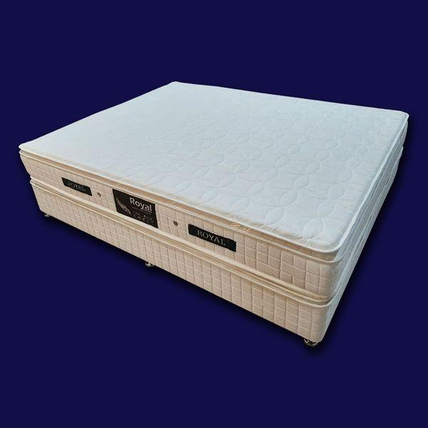 تخت خواب دو نفره رویال کد BF904 سایز 200 × 160 سانتیمتر