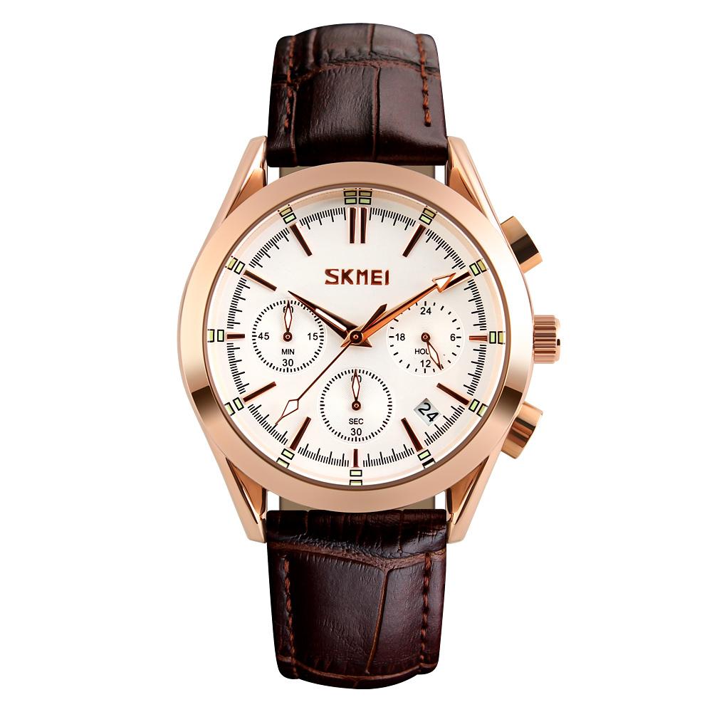 ساعت مچی عقربه ای مردانه اسکمی مدل 9127W-NP              ارزان