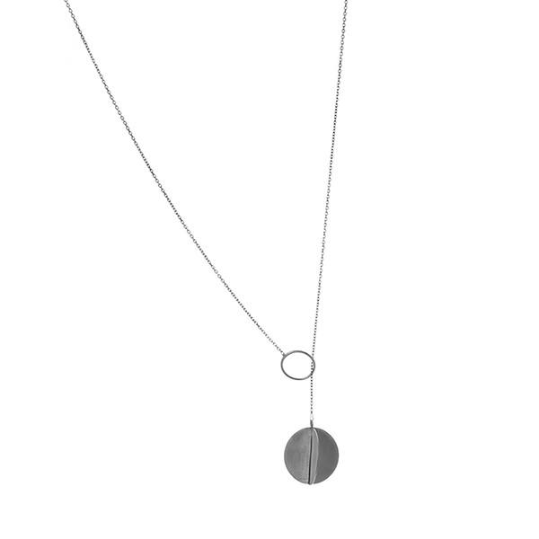 گردنبند نقره زنانه زیبو مدل 508319