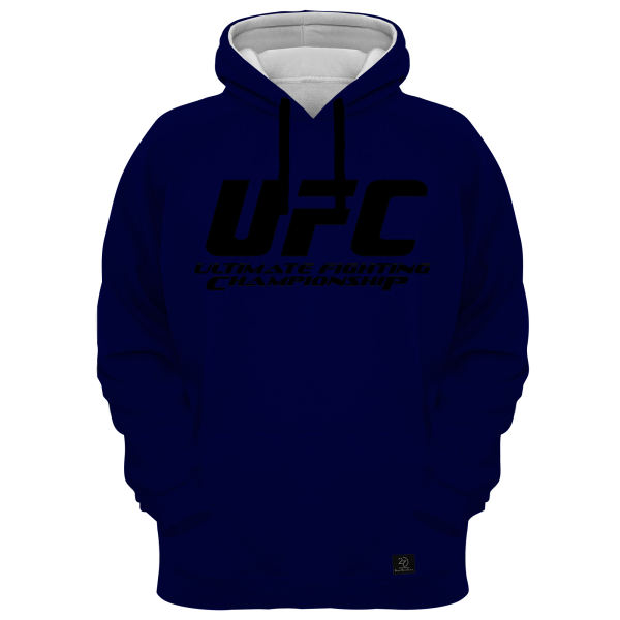 هودی مردانه 27 مدل UFC کد AL01 رنگ سرمه ای