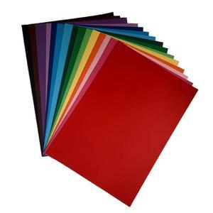 مقوا رنگی کد 030 سایز 21x30 سانتی متر بسته 30 عددی