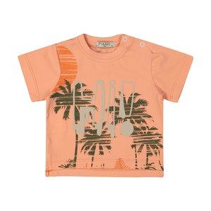 تی شرت نوزادی پسرانه پیانو مدل 01512-23