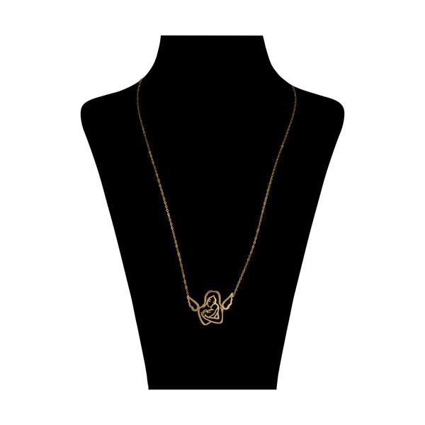 گردنبند طلا 18 عیار زنانه مایا ماهک مدل MM1107