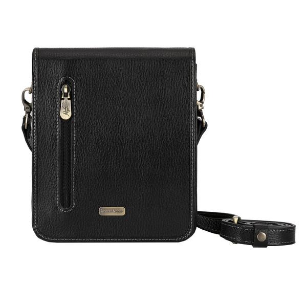 کیف دوشی مردانه چرم نگار کد 207549