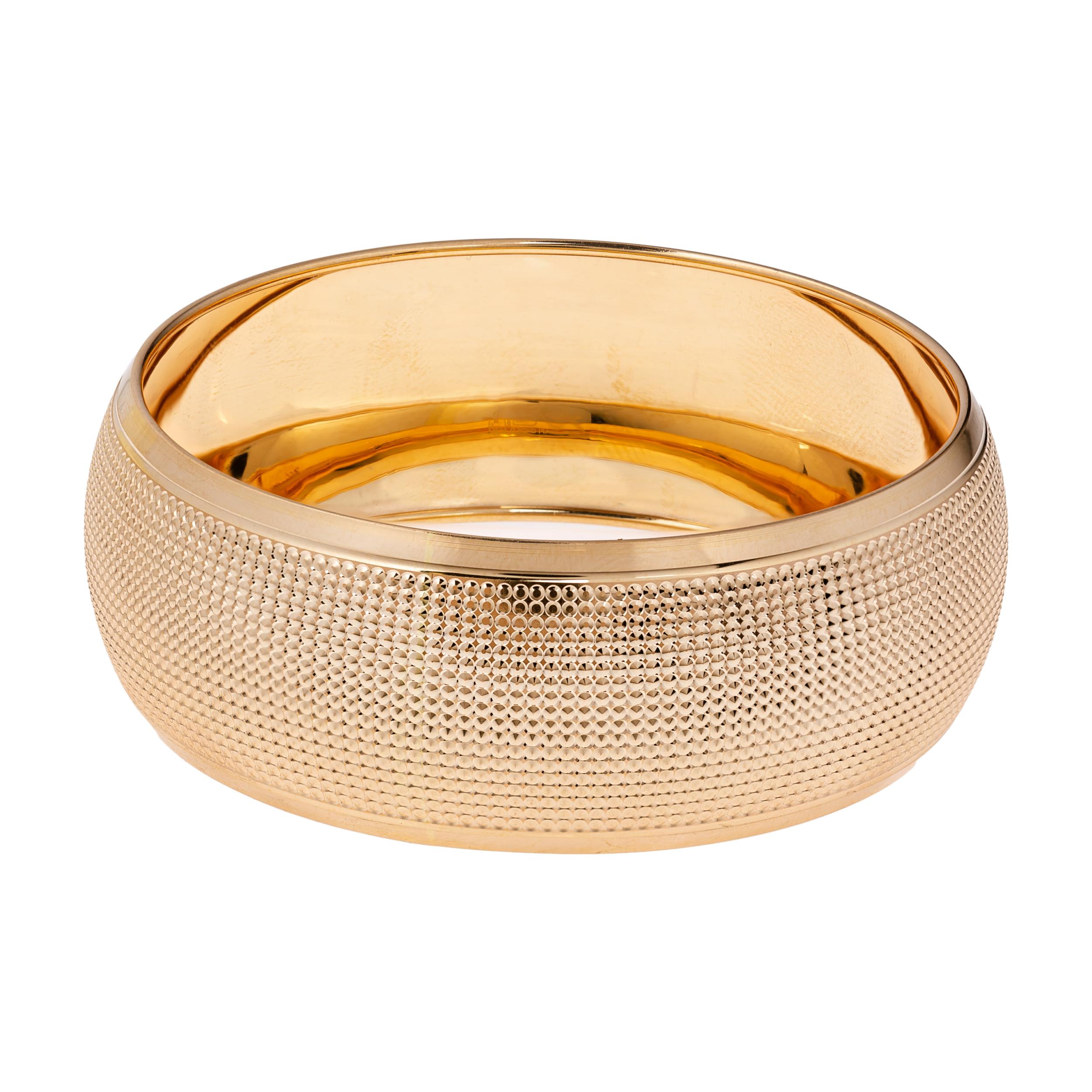 النگو طلا 18 عیار زنانه گالری یارطلا کد AL26-G-4