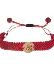 دستبند طلا 18 عیار زنانه آبستره مدل D04 -  - 1
