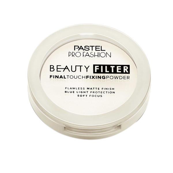 پودرتثبیت کننده آرایش پاستل مدل Beauty Filter شماره 00