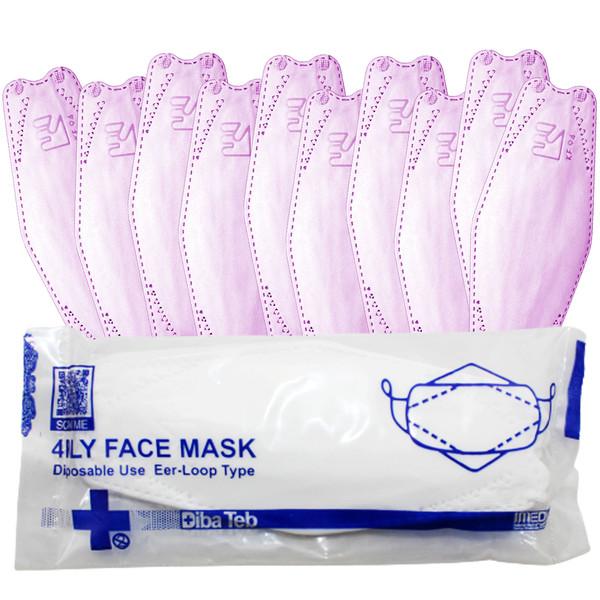 ماسک تنفسی دیباطب مدل ارکیده بسته 10 عددی