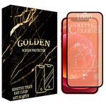 محافظ صفحه نمایش گلدن مدل GLDMCER مناسب برای گوشی موبایل اپل IPhone 12 / 12 Pro