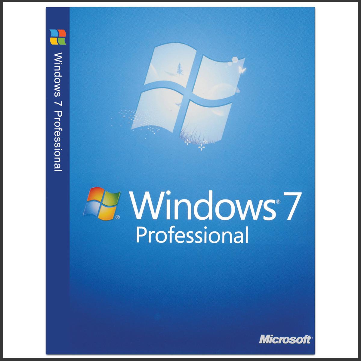 سیستم عامل Windows7 نسخه Pro نشر