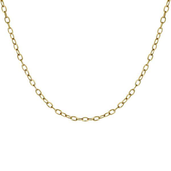 زنجیر طلا 18 عیار زنانه اقلیمه مدل ZT43
