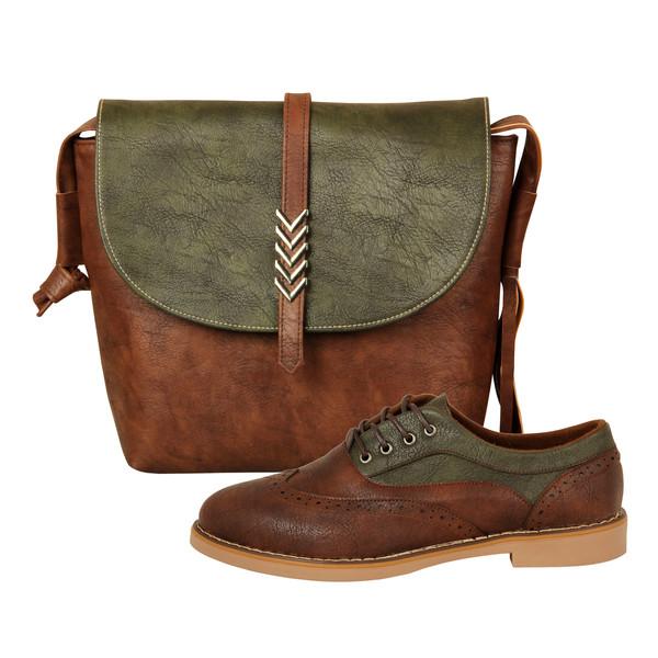 ست کیف و کفش زنانه کد 986