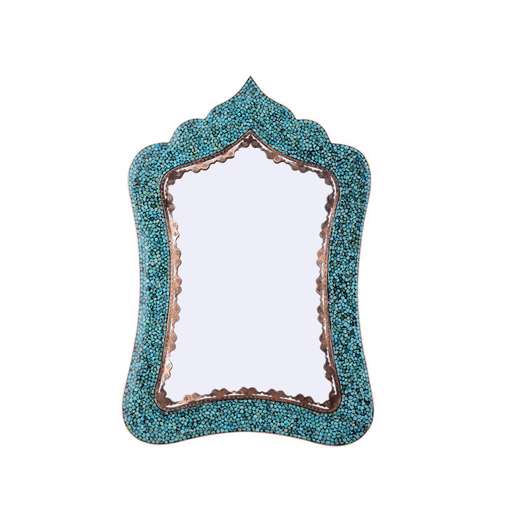 آینه فیروزه کوبی آقاجانی کد F035