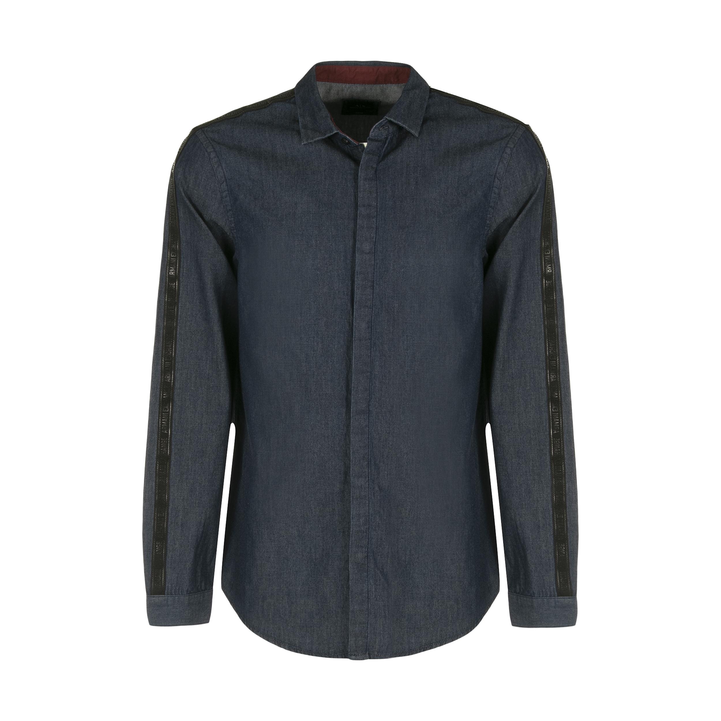 پیراهن مردانه آرمانی اکسچنج مدل 6ZZC12Z1GAZ-1500