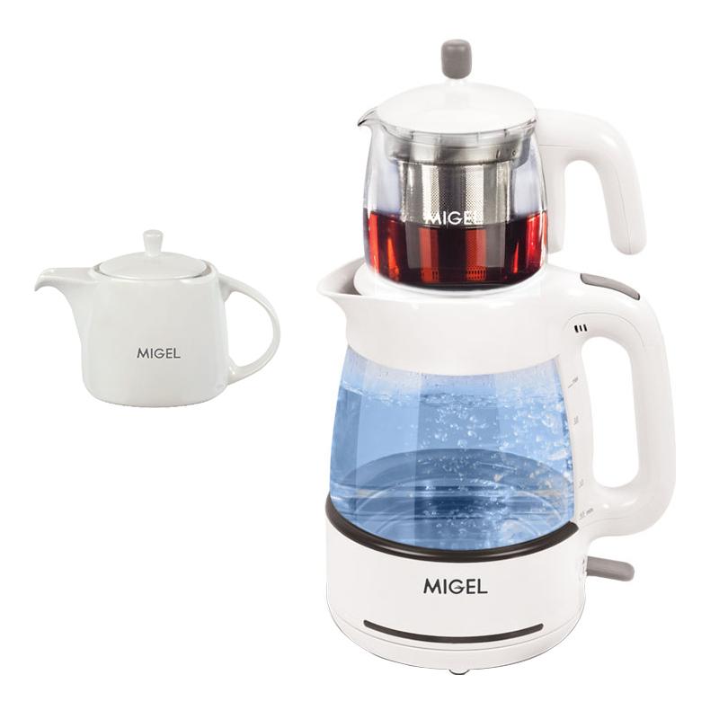 چای ساز میگل مدل GTS 070 - B به همراه قوری چینی هدیه