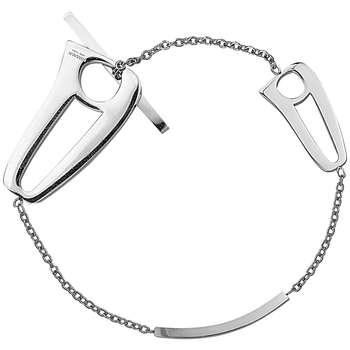 دستبند زنانه طرح هـ مدل GZ99904