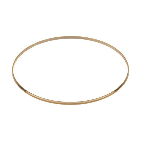 النگو طلا 18 عیار زنانه گالری یار طلا کد AL12-G-2