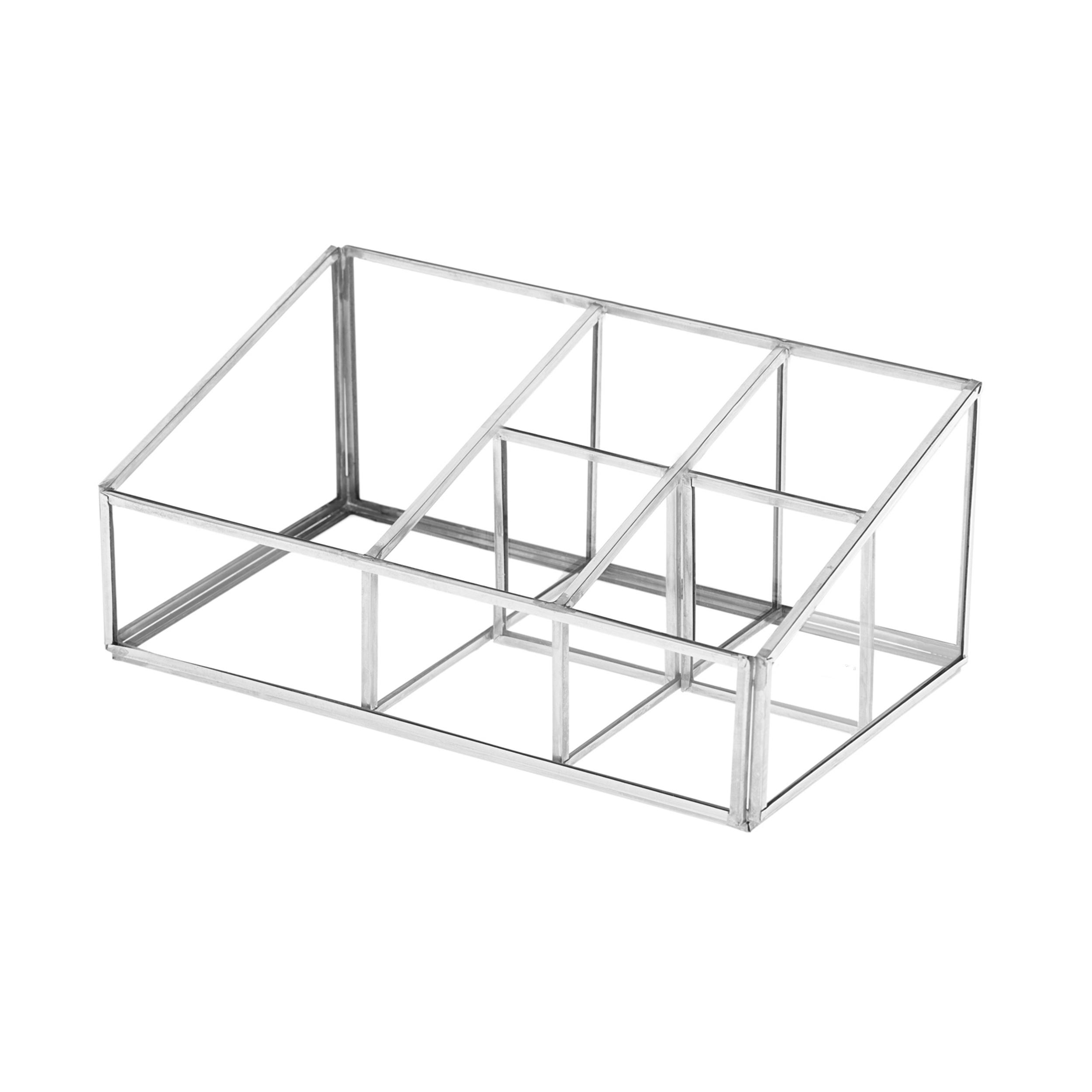 استند لوازم آرایشی شیشه ای مدل  Sections KS کد BT2011