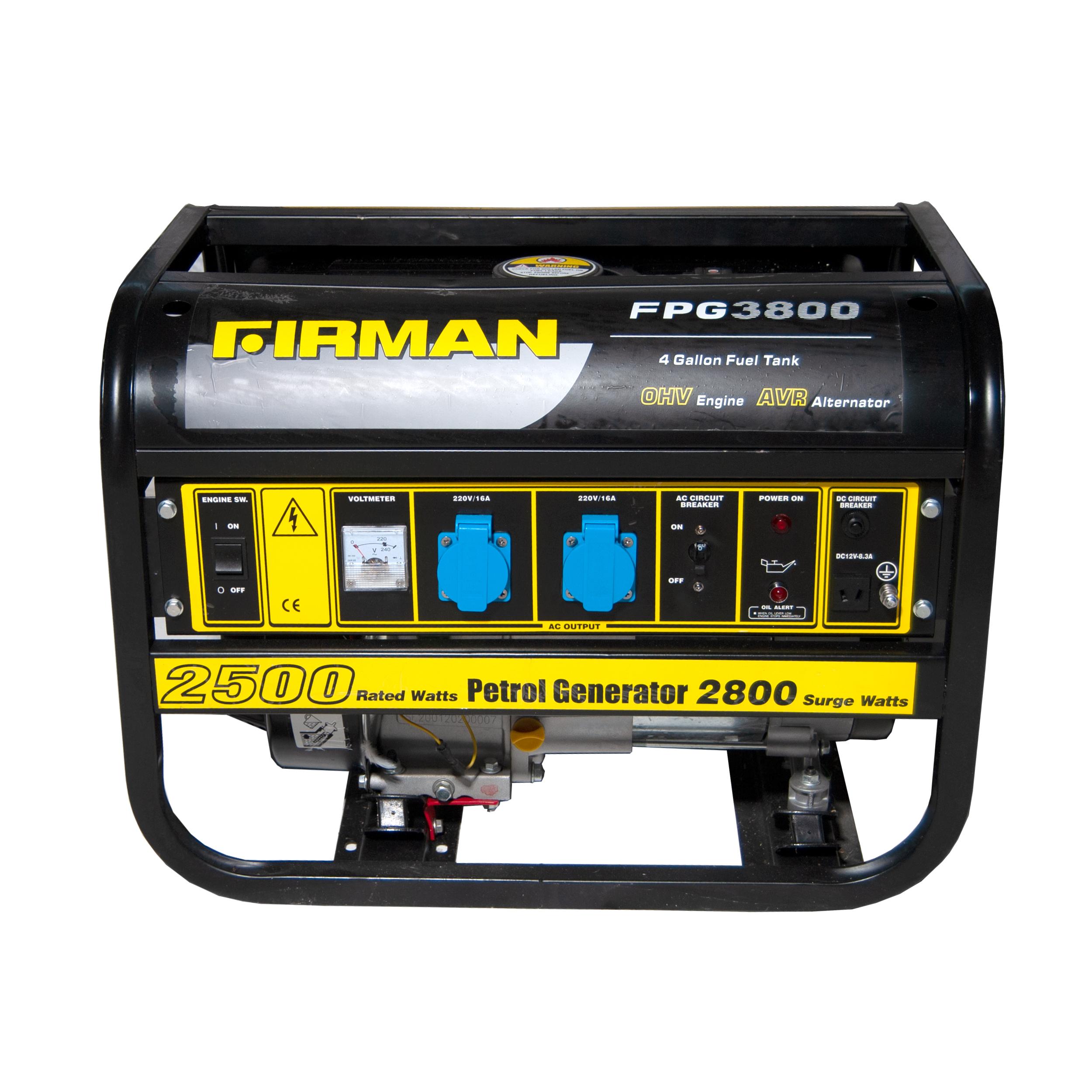 موتور برق فیرمن مدل FPG3800