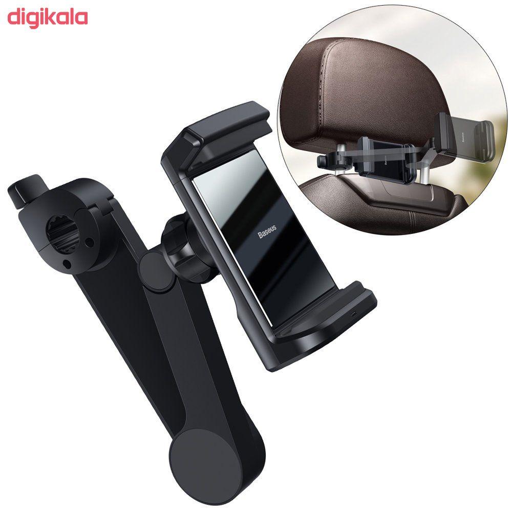 پایه نگهدارنده و شارژر بی سیم گوشی موبایل باسئوس مدل WXHZ-01 main 1 5