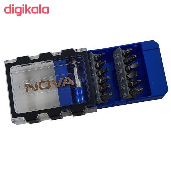 مجموعه 13 عددی سری پیچ گوشتی نووا کد NTS 1325NO main 1 2