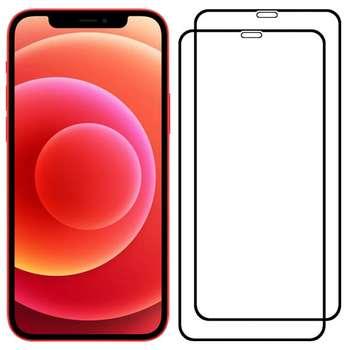 محافظ صفحه نمایش مدل PHSI مناسب برای گوشی موبایل اپل iPhone 12 Pro Max بسته 2 عددی
