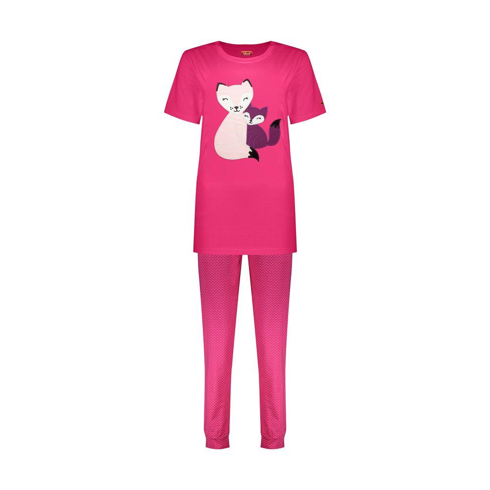 ست تی شرت و شلوار زنانه مادر مدل Billie410-66