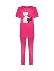 ست تی شرت و شلوار زنانه مادر مدل Billie410-66 -  - 1