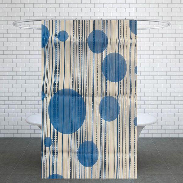 پرده حمام کد Ham49 سایز 180x200 سانتی متر