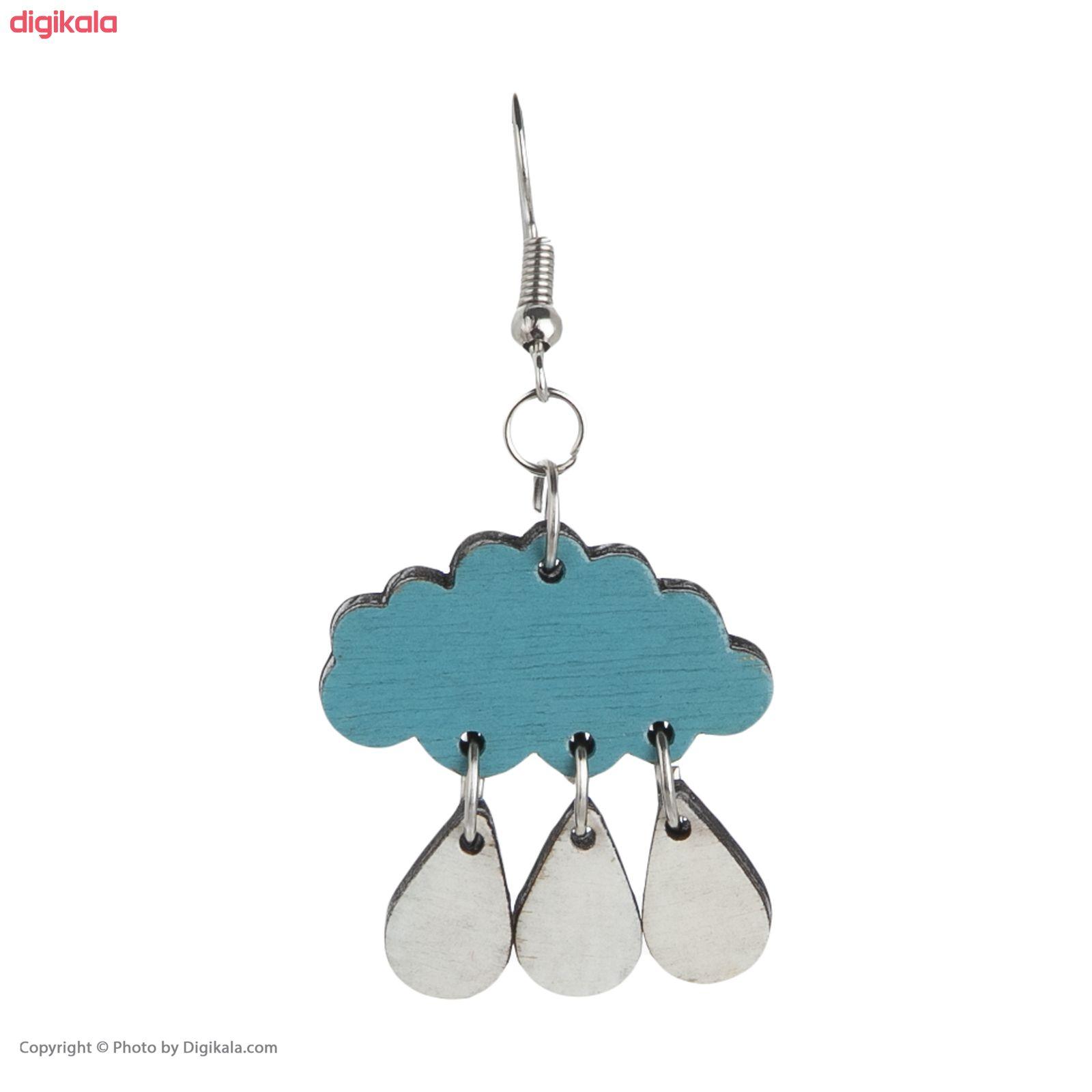 گوشواره زنانه مدل چتر و باران کد 012 main 1 2