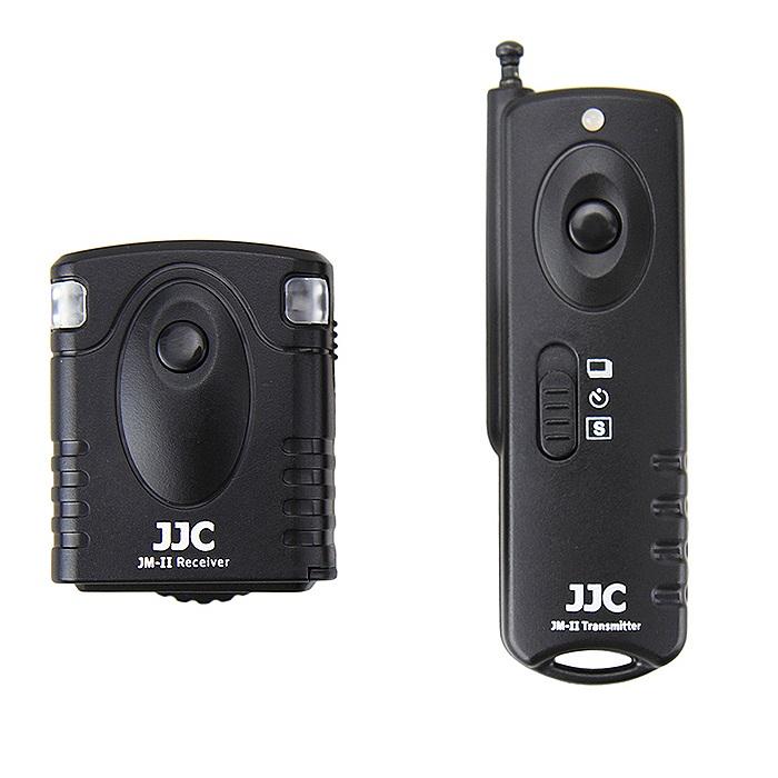 بررسی و {خرید با تخفیف} ریموت کنترل دوربین جی جی سی مدل JM-BII مناسب برای دوربین های نیکون اصل