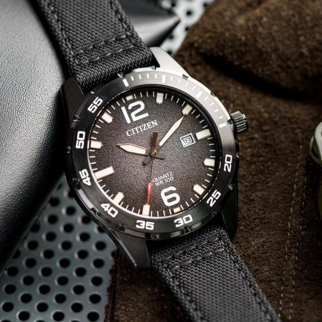 ساعت مچی عقربهای مردانه سیتی زن مدل BI1045-05E